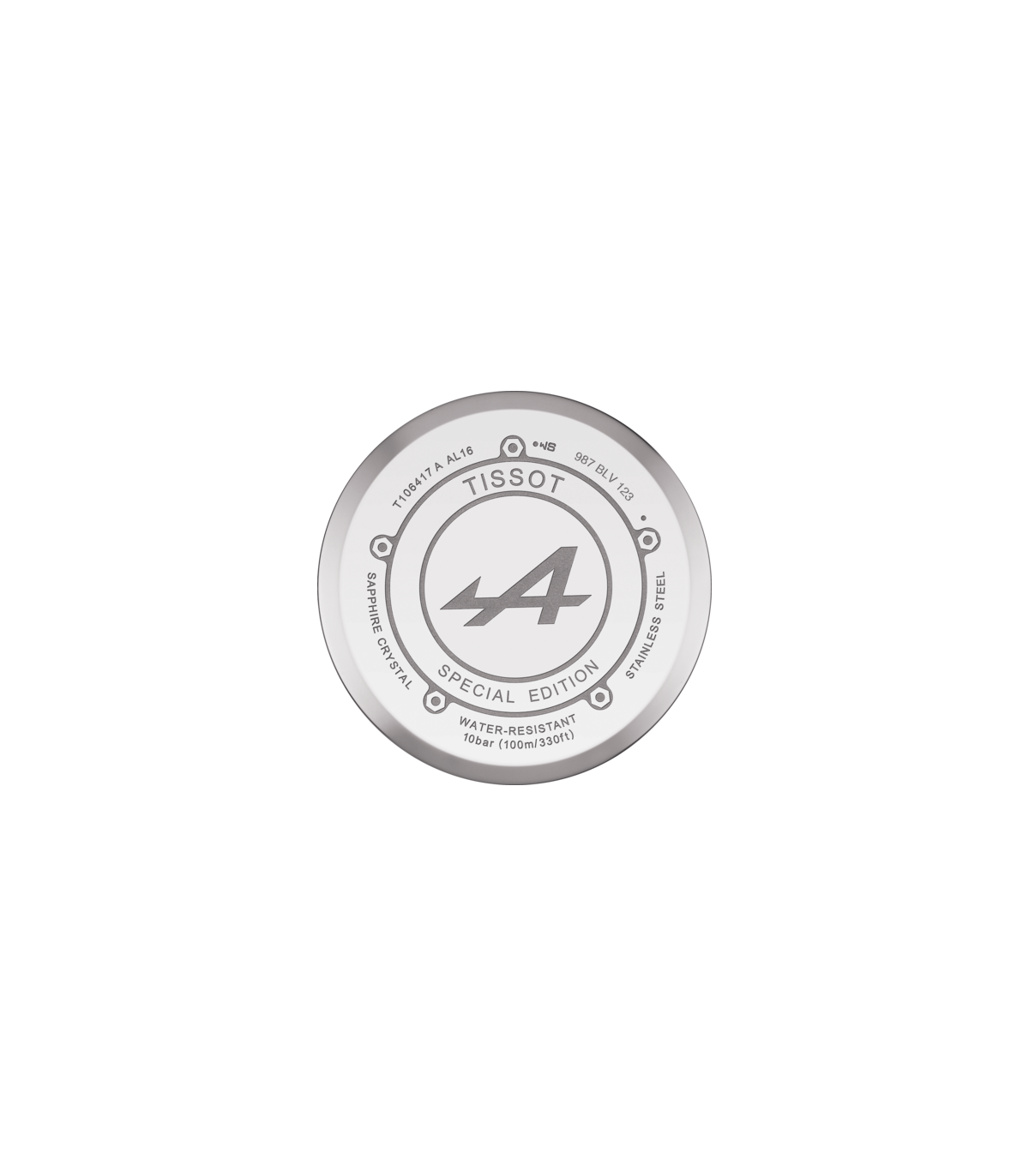 Zegarek Tissot V8 Alpine T106 417 16 201 01