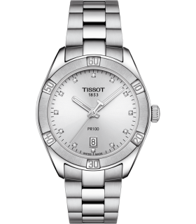 copy of Zegarek Tissot PR 100 Sport Chic Quartz Lady  T101.910.11.031.00