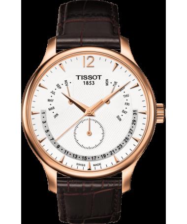 Zegarek Tissot Tradition Perpetual Calendar T063.637.36.037.00