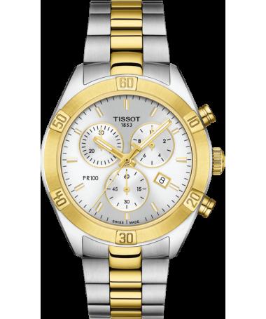 copy of Zegarek Tissot PR 100 Sport Chic Chronograph T101.917.11.031.00