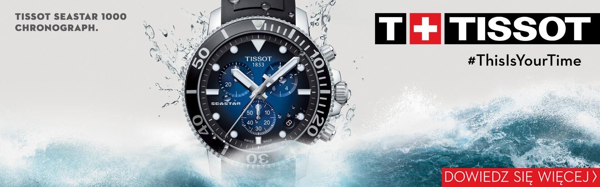 Zegarek Tissot T120.417.17.041.00 dostępny w Gdyni