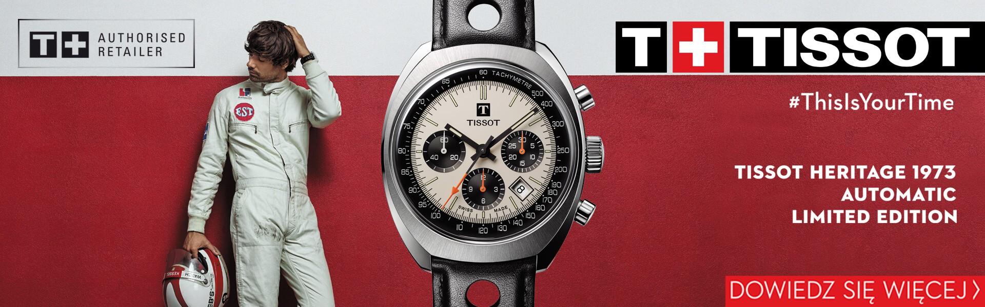 Zegarek Tissot Heritage 1973 dostępny w Gdyni