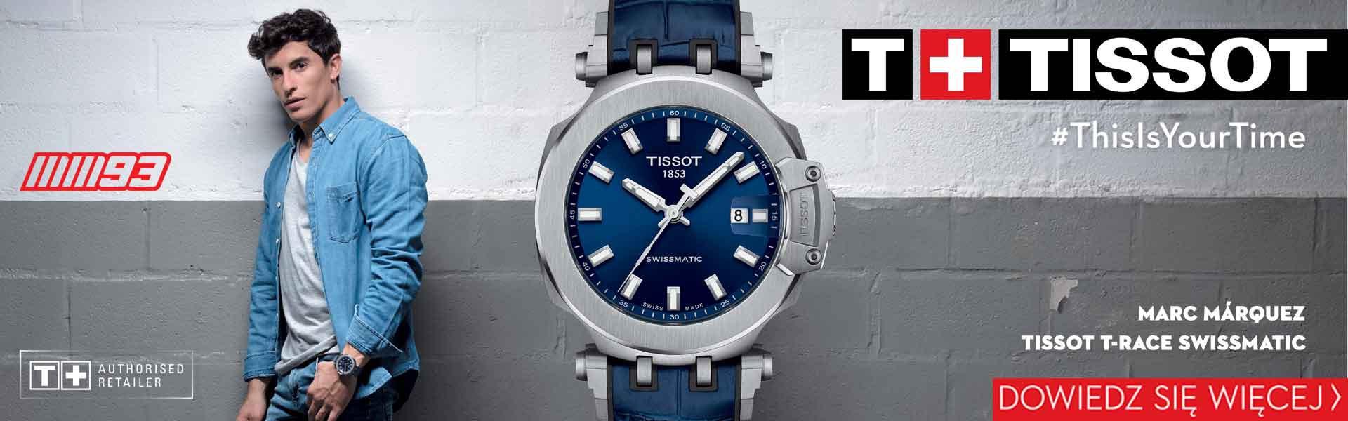 Kolekcja Tissot T-Race Swissmatic