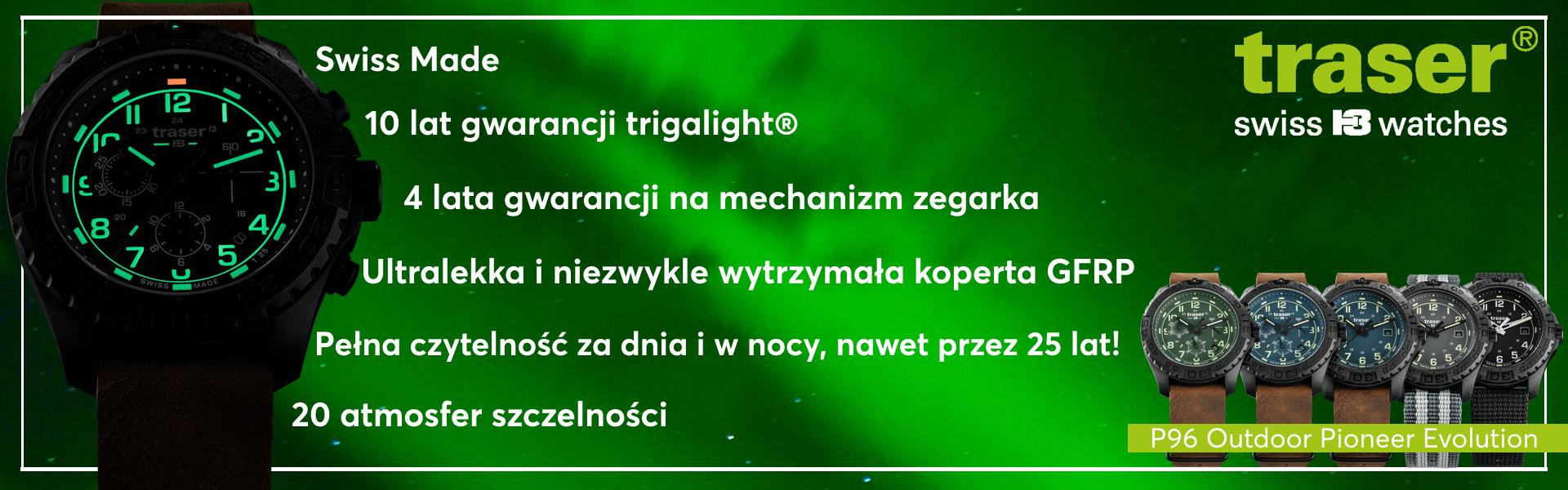 Zegarki Traser w Salonzegarkow.com.pl